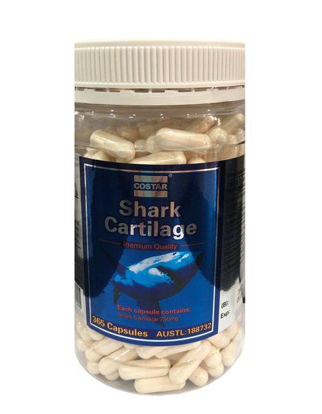 Sụn Cá Mập Costar Blue Shark Cartilage 750mg