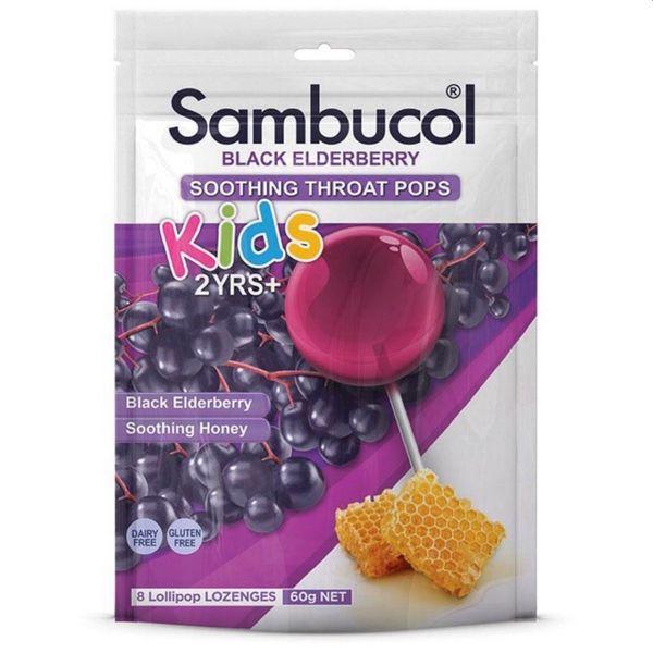 Kẹo Mút Cho Bé Sambucol Black Elderberry