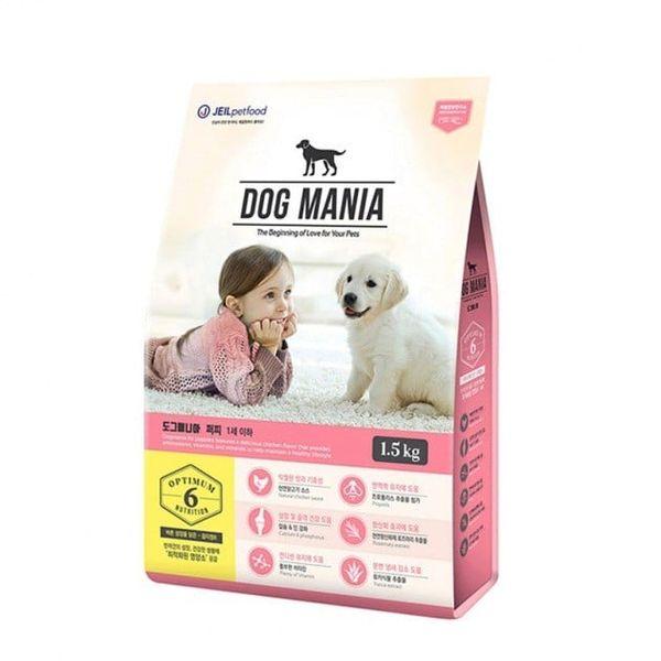 Thức Ăn Hạt Cho Chó Nhỏ DOG MANIA Premium Puppy Vị Hỗn Hợp
