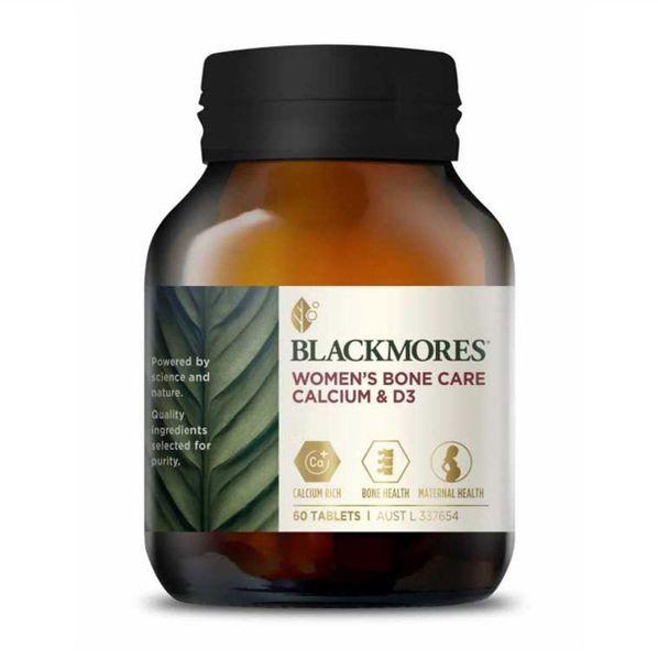 Viên Uống Hỗ Trợ Bổ Xương Blackmores Women's Bone Care Calcium D3