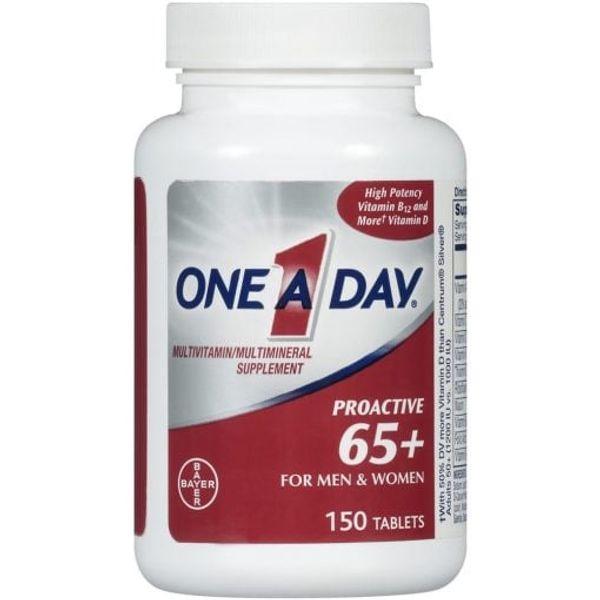 Vitamin Tổng Hợp Cho Nam, Nữ Trên 65 Tuổi One A Day Proactive 65+