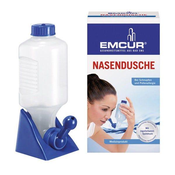 Bình Rửa Mũi Cho Bé Emcur Nasendusche Chính Hãng