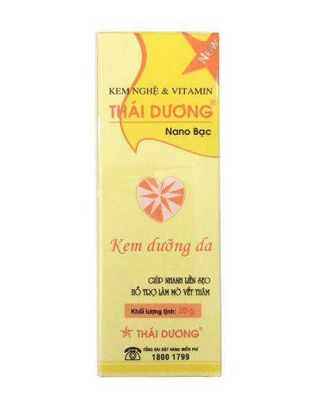 Kem Nghệ Thái Dương Nano Bạc Hỗ Trợ Mờ Sẹo Và Thâm Mụn