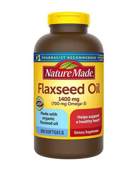 Dầu Hạt Lanh Nature Made Flaxseed Oil 1400mg 300 Viên