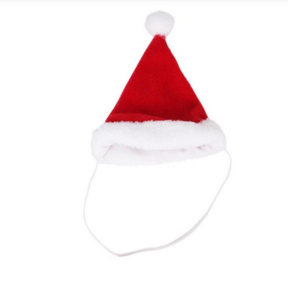 Mũ Giáng Sinh Quả Bông Đáng Yêu Cho Thú Cưng