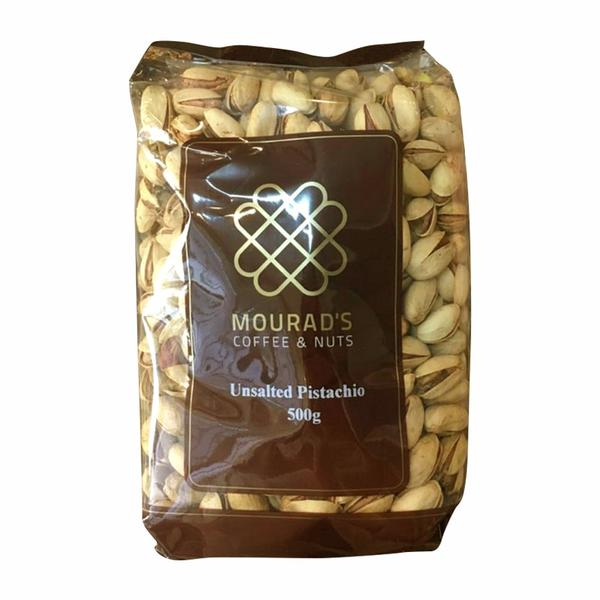 Hạt Dẻ Cười Mourad's Coffee & Nuts Unsalted Pistachio 500g