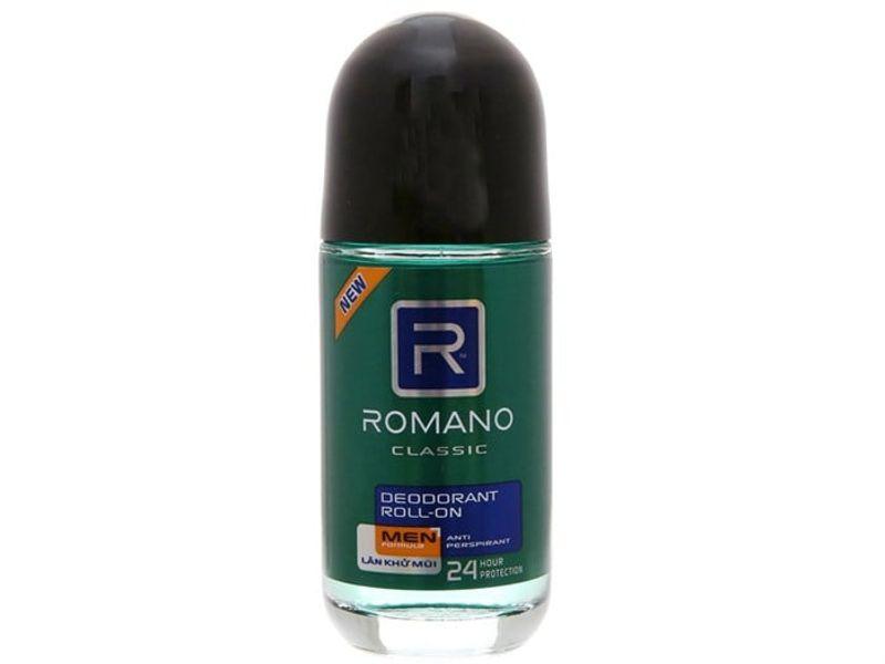 Lăn Khử Mùi Romano Classic Cho Nam 50ml