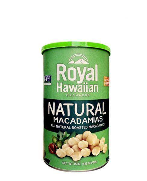 Nhân Hạt Macadamias Natural Royal Hawaiian 425g
