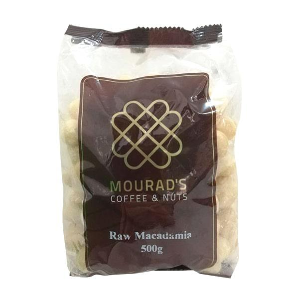 Nhân Hạt Macca Mourad's Coffee & Nuts Maccadamia 500g