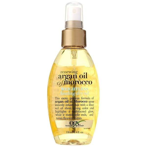 Xịt Dưỡng Tóc OGX Argan Oil Morocco Healing Dry Oil