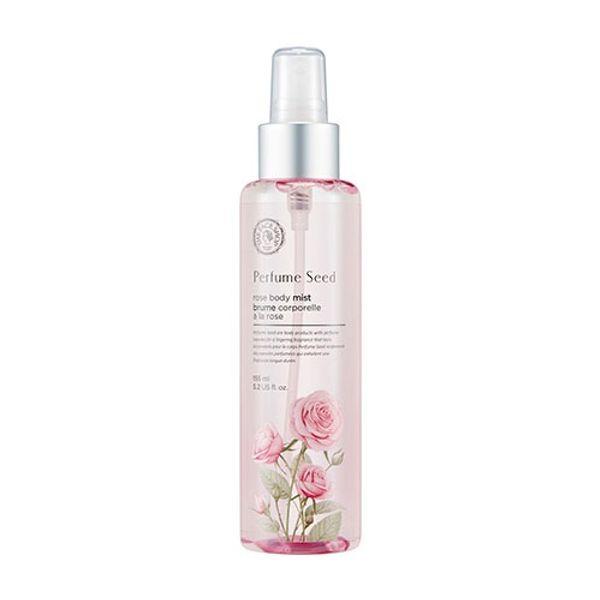 Xịt Dưỡng Thể Nước Hoa Perfume Seed Rose Body Mist 155ml