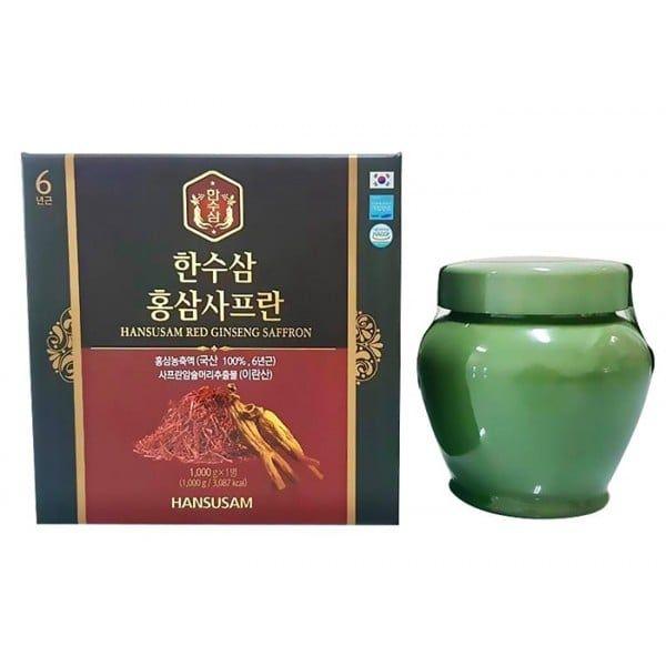Cao Hồng Sâm Nhụy Hoa Nghệ Tây Hansusam Red Ginseng Saffron