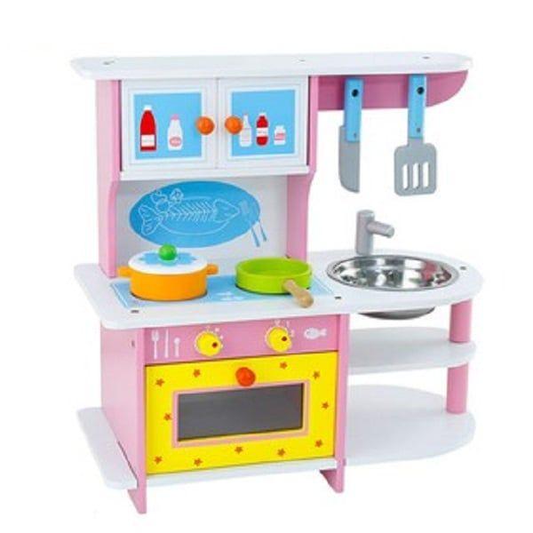 Bộ Bếp Chơi Nấu Ăn Cho Bé BBT Global MSN15024