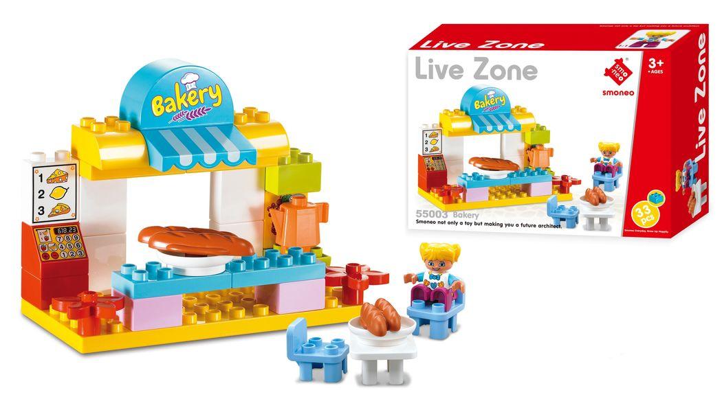 Bộ Đồ Chơi Lắp Ghép Cửa Hàng Bánh Ngọt 33 Chi Tiết Toys House