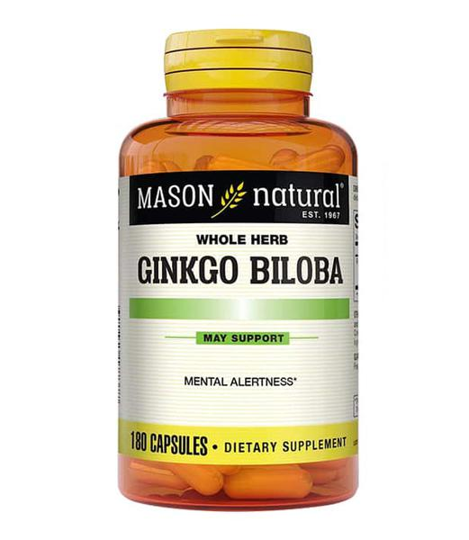 Ginkgo Biloba 500mg Mason Natural Của Mỹ