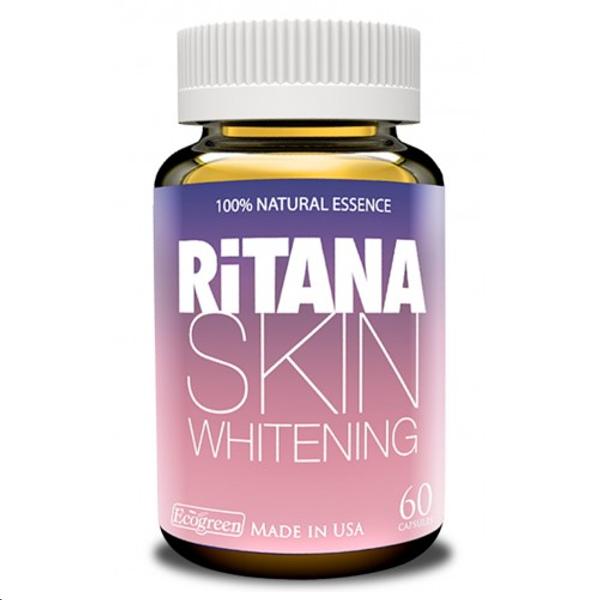 Viên Uống Hỗ Trợ Trắng Da Ritana Skin Whitening Của Mỹ