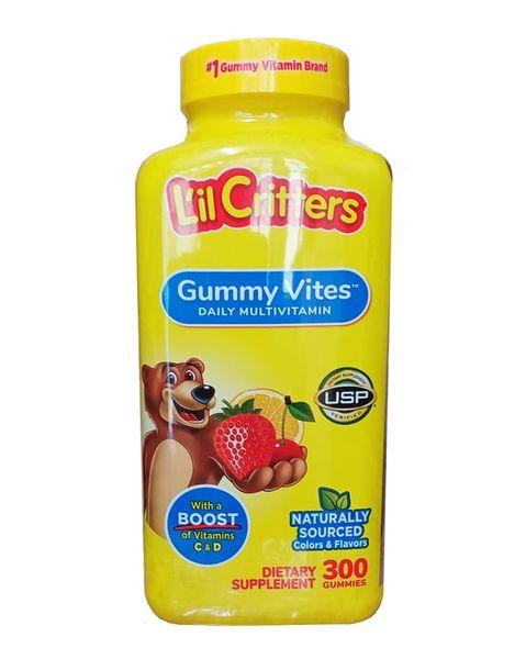 Kẹo Dẻo Lil Critter Gummie Vite Cho Trẻ Từ 2 - 4 Tuổi