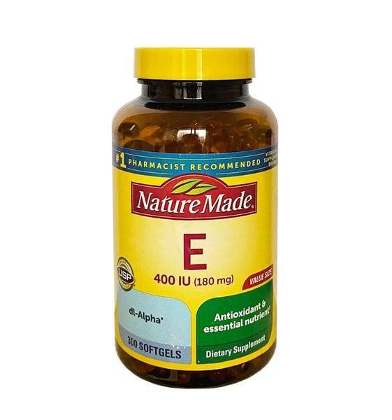 Vitamin E 400 Iu Nature Made Của Mỹ