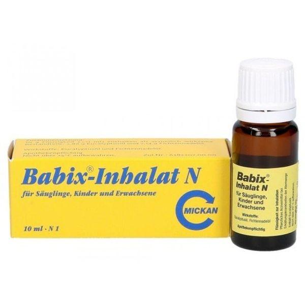 Tinh Dầu Xông Mũi Ngừa Cảm Babix-Inhalat N 10ml Của Đức