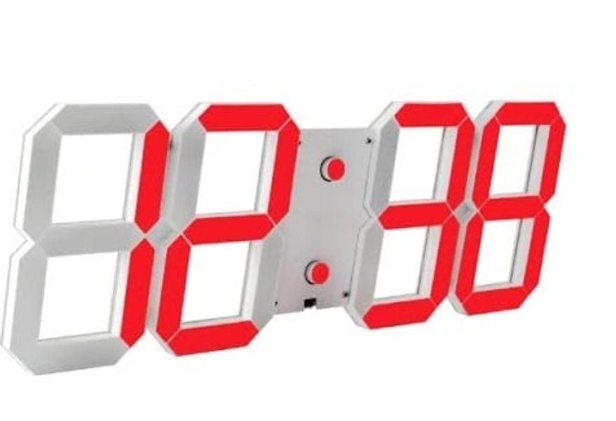 Đồng Hồ Kỹ Thuật Số Led 3D Smart Clock Treo Tường, Để Bàn