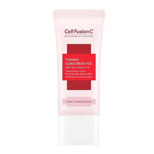 Kem Chống Nắng Cell Fusion C Toning Sunscreen 100 Nâng Tông
