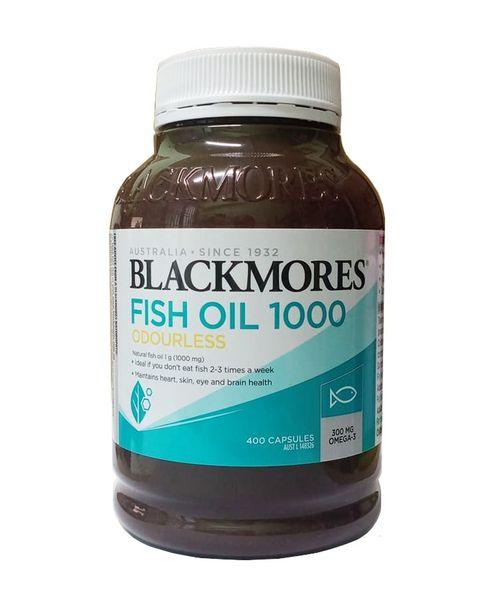 Dầu Cá Blackmores Không Mùi Odourless Fish Oil 1000 Mg