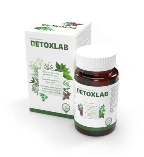 Detoxlab -Viên Uống Hỗ Trợ Thải Độc Gan, Tăng Cường Sức Khỏe