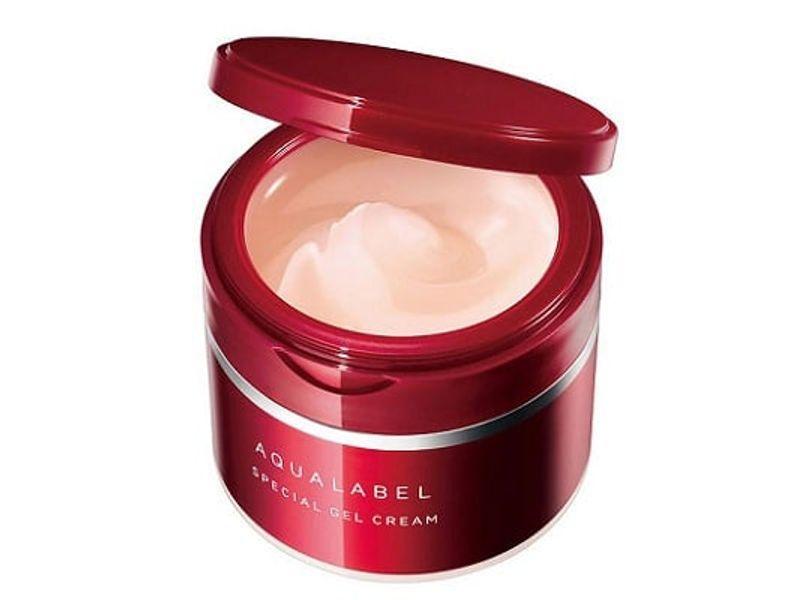 Kem Dưỡng Da Shiseido Aqualabel Đỏ Của Nhật