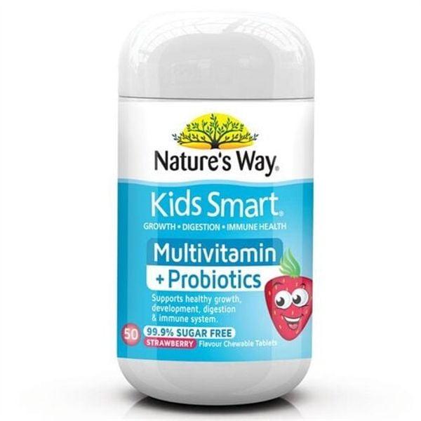 Kẹo Nature's Way Kids Smart Multivitamin + Probiotics