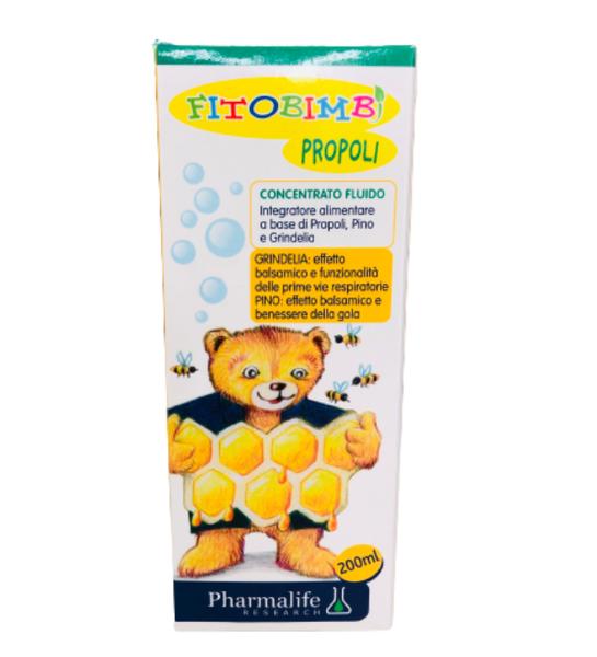 Siro Uống Fitobimbi Propoli Hỗ Trợ Giảm Ho Và Cảm Lạnh Cho Bé