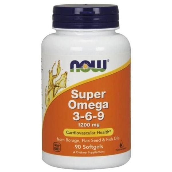 Super Omega 3-6-9 1200mg Now Hỗ Trợ Tim Mạch
