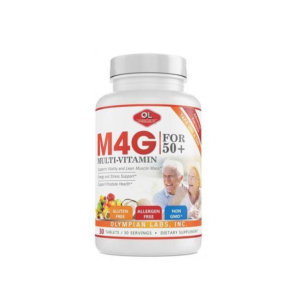 Viên Uống Bổ Sung Vitamin Olympian Labs M4G Multi-Vitamin For 50+