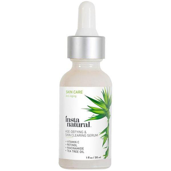 InstaNatural Age-Defying& Skin Clearing Serum Hỗ Trợ Trẻ Hóa Da