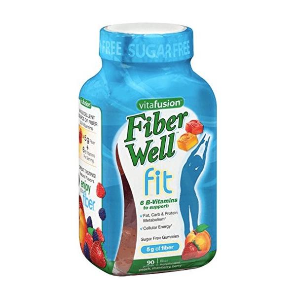 Kẹo Dẻo Hỗ Trợ Giảm Cân Vitafusion Fiber Well Fit