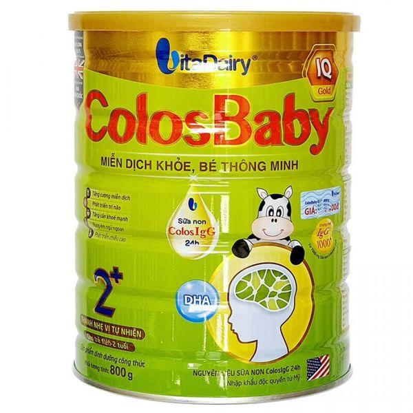 Sữa Non Colosbaby IQ Gold 2+ Cho Bé Từ 2 Tuổi Trở Lên