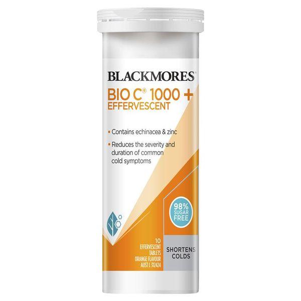 Viên Sủi Tăng Đề Kháng Blackmores BIO C 1000+Effervescent