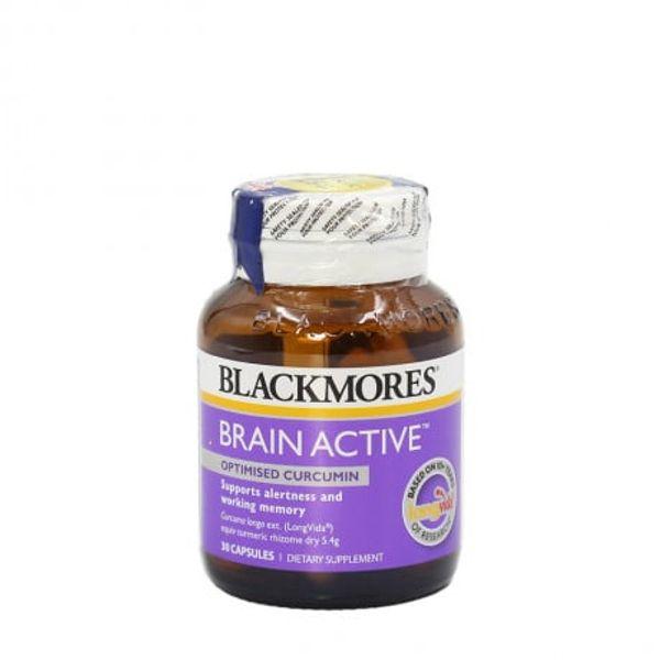 Viên Uống Blackmores Brain Active Hỗ Trợ Tăng Cường Trí Nhớ