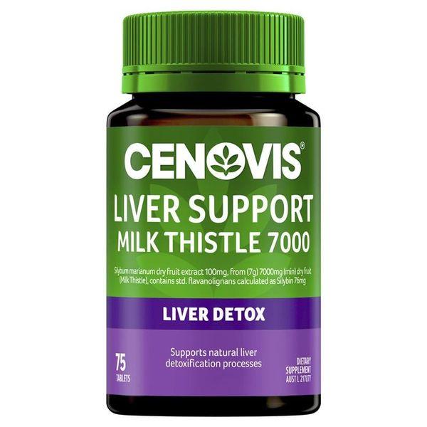 Viên Uống Cenovis Liver Support Milk Thistle Hỗ Trợ Bổ Gan