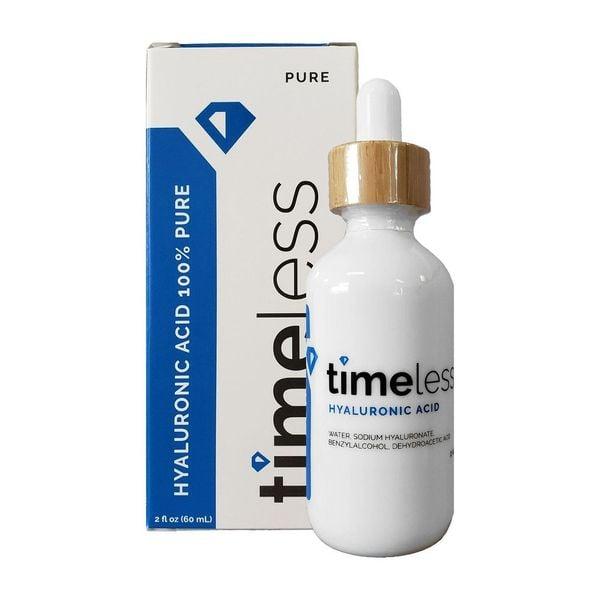Serum Timeless Hyaluronic Acid Pure Cấp Nước Chuyên Sâu
