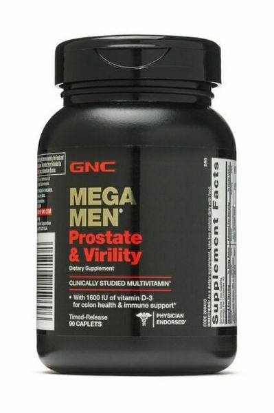 Viên Uống Hỗ Trợ Sinh Lý Nam GNC Mega Men Prostate And Virility