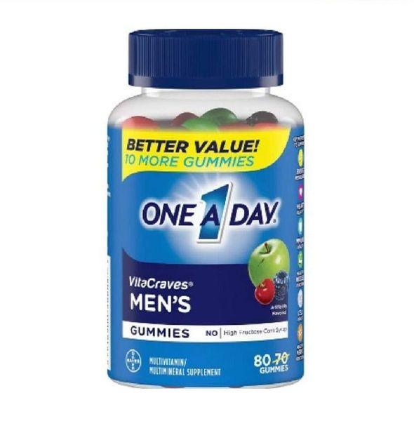 Kẹo Dẻo Vitamin Cho Nam One A Day Men's Vitacraves Gummies