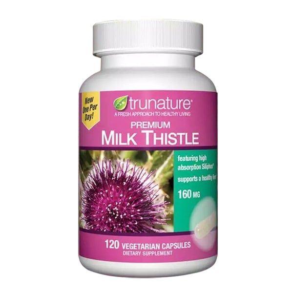 Viên Hỗ Trợ Chức Năng Gan Trunature Premium Milk Thistle 160mg