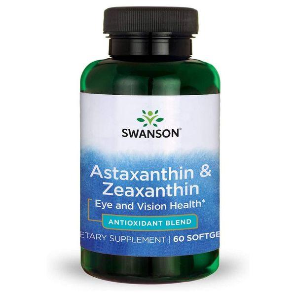 Viên Uống Hỗ Trợ Bảo Vệ Thị Lực Swanson Ultra Astaxanthin & Zeaxanthin