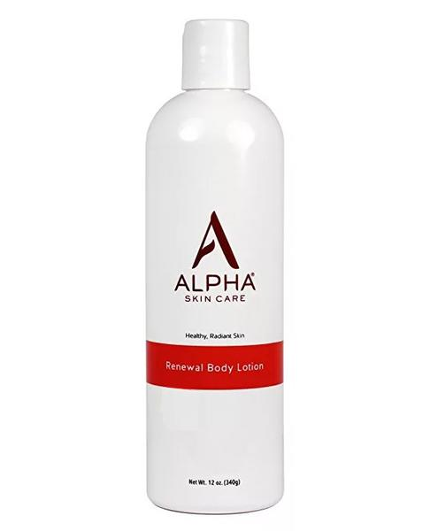 Dưỡng Thể Sáng Da Alpha Skincare Renewal Body Lotion With 12% AHA