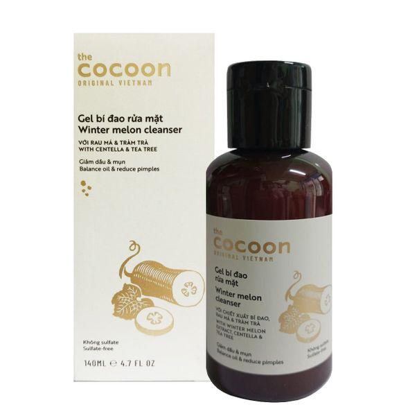 Gel Rửa Mặt Bí Đao Cocoon Winter Melon Cleanser 140ml