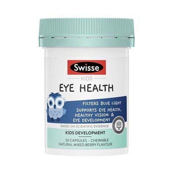 Viên Nhai Swisse Kids Eye Health Hỗ Trợ Thị Lực Cho Bé