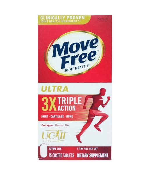 Viên Uống Schiff Move Free Ultra Triple Action Hộp 75 Viên
