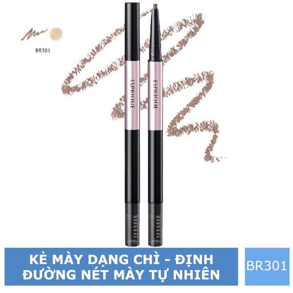 Chì Kẻ Mày Kose ESPRIQUE W EYEBROW (Pencil & Powder) - BR301