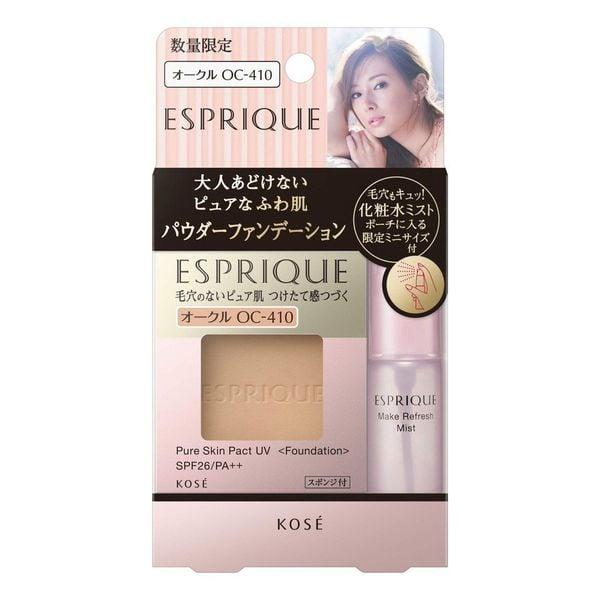 Phấn Nền Kose Esprique Pure Skin Pact UV SPF26 PA++