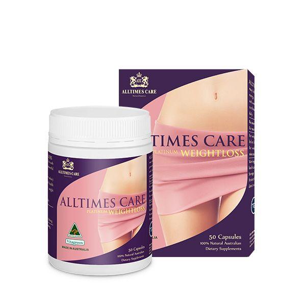 Viên Uống Hỗ Trợ Giảm Cân Alltimes Care, Platinum Weightloss